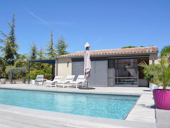 gîte met zwemdag te huur in de Provence regio Bédoin Mont Ventoux