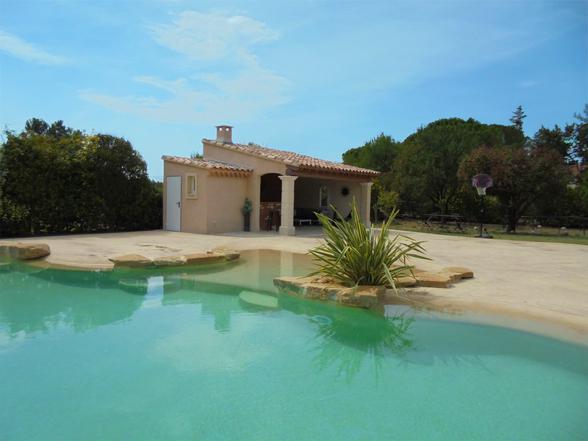 huis met airco huren in de Provence, regio Ventoux, vakantie met kids, groot zwembad