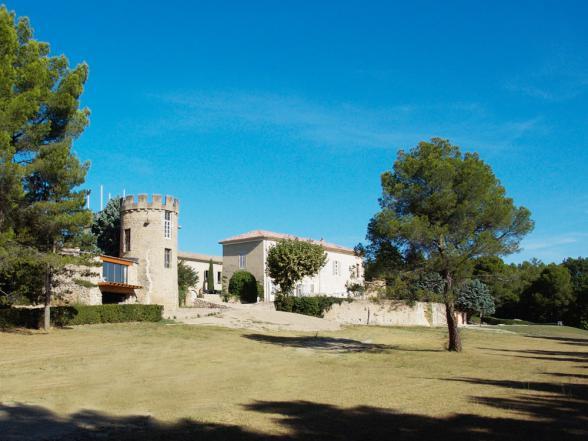 romantische vakantie in een kasteel in Zuid-Frankrijk