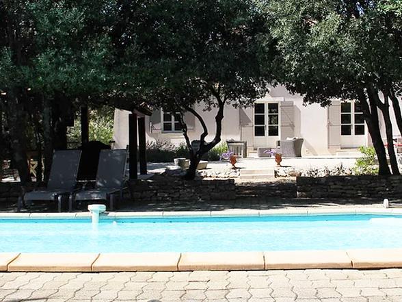 vakantie Provence villa huren in de Luberon met verwarmd privé zwembad
