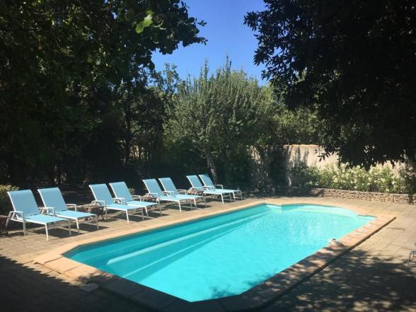 villa huren voor 8 personen met verwarmd zwembad in de Luberon, Provence, Zuid-Frankrijk