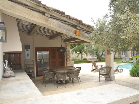 vakantiehuis voor 10 personen met buitenkeuken huren in de Provence aan de Mont Ventoux