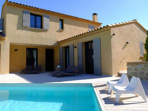 villa voor 8 personen met verwarmd privé zwembad te huur