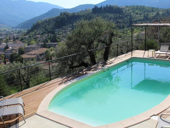vakantiehuis in de Provence huren met verwarmd privé zwembad