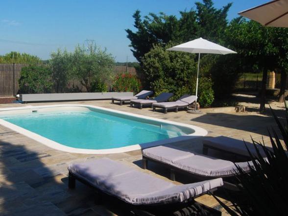 vakantie, villa huren met airco, verwarmd zwembad en buitenkeuken in Zuid-Frankrijk, Mont Ventoux