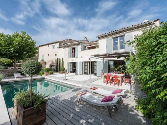 villa te huur in de Luberon, Provence met privé zwembad