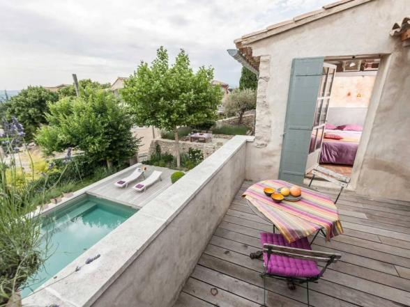 Luxe villa van Belgen te huur Bonnieux Luberon Provence