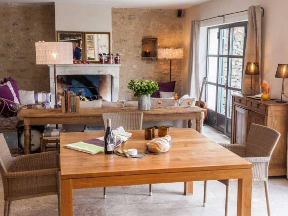 luxevilla te huur in het centrum van Bonnieux, de Luberon, Provence