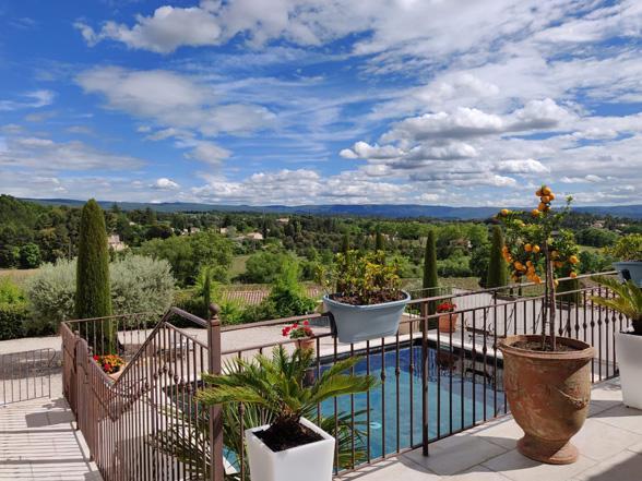 villa huren met zwembad en airco voor 12 personen vakantie Provence, Mont Ventoux, Bédoin