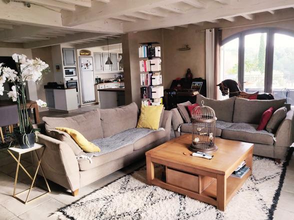 luxe vakantiehuis huren voor 12 personen met airco en groot zwembad in Bédoin