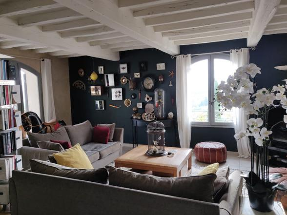vakantie Provence villa huren aan de Ventoux met privé zwembad, airco en zicht op de Mont Ventoux