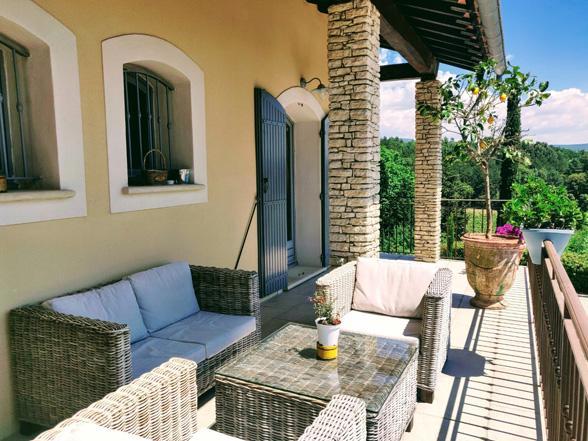 vakantie Provence villa huren voor 12 personen aan de Ventoux met airco en verwarmd privé zwembad