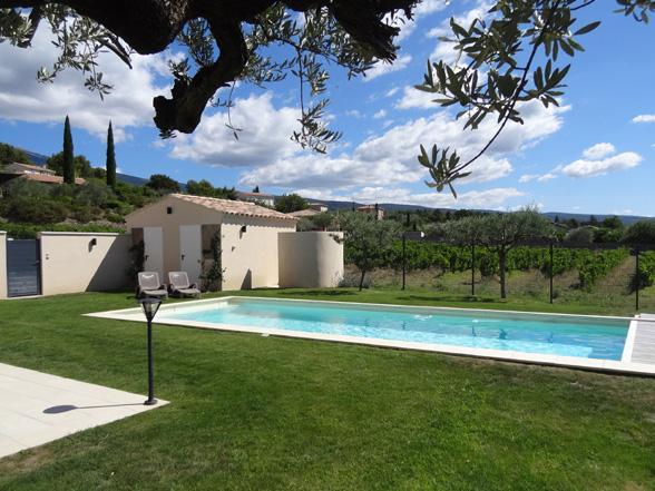 villa huren in Zuid-Frankrijk met airco en verwarmd zwembad