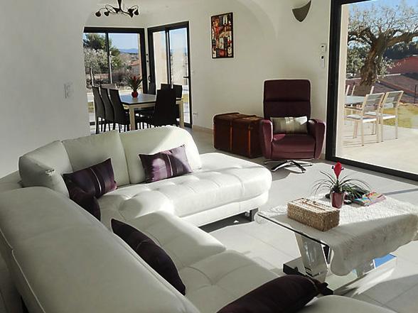 vakantiehuis voor 8 personen in de provence huren, regio mont ventoux
