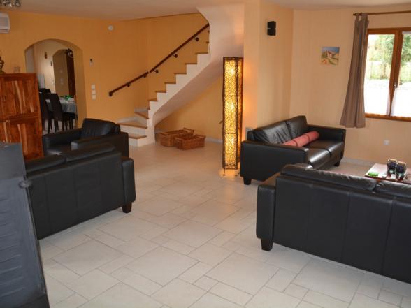 villa te huur voor 8 personen in regio Vaison