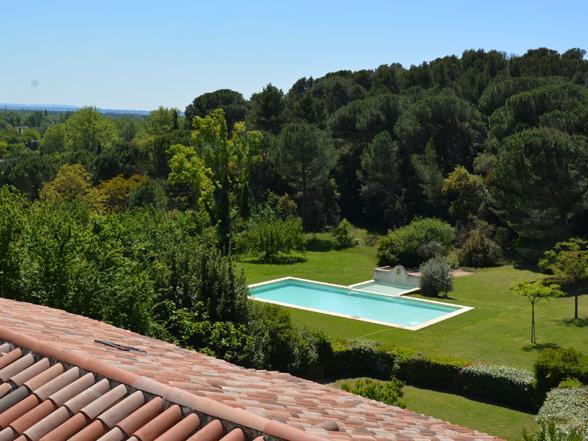 vakantiehuisje huren voor 6 personen met zwembad en airco in de Provence