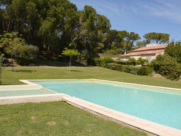 huis met groot zwembad huren in de Provence aan de Mont Ventoux