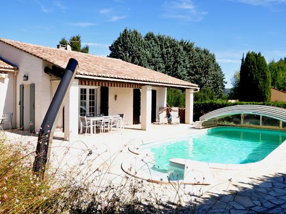 villa huren in het centrum Vaison-la-Romaine vakantie Provence