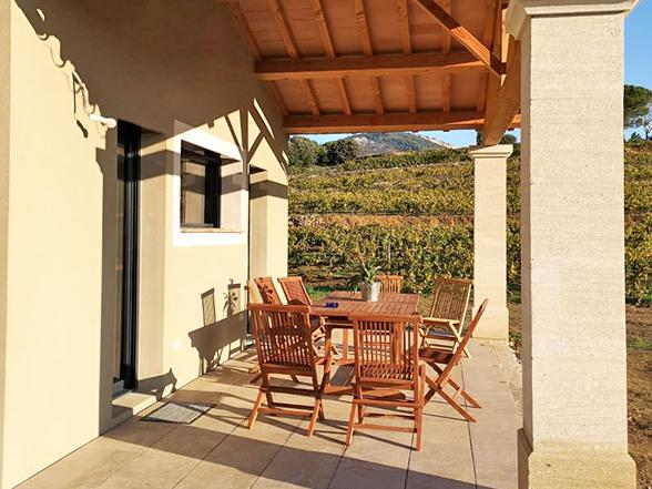 huis huren met airco en verwarmd zwembad voor 10 personen voor vakantie in de Provence, op wandelafstand van het dorp, Vaison-la-Romaine met privé zwembad
