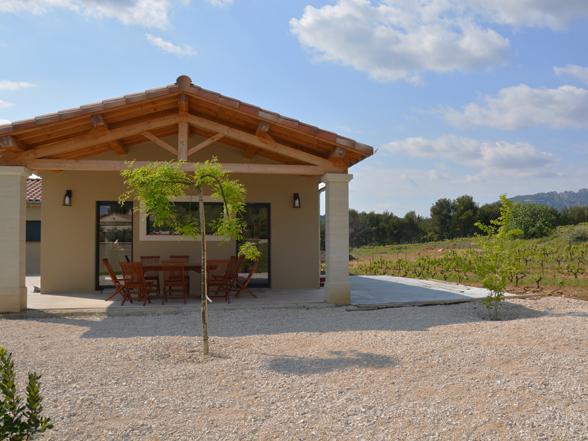 rustig gelegen tussen de wijngaarden villa huren voor 10 personen
