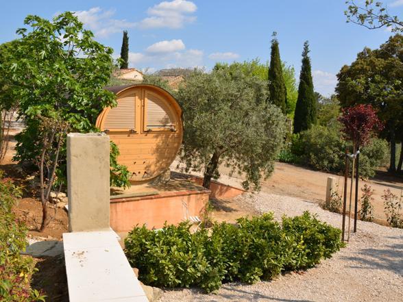 villa huren met airco en verwarmd zwembad voor grote groep aan de Mont Ventoux, Provence
