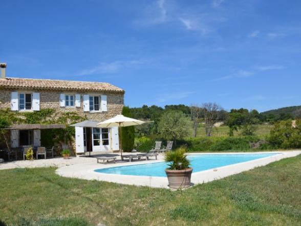 Luxe vakantiehuis huren in de Provence met zicht op de Mont Ventoux