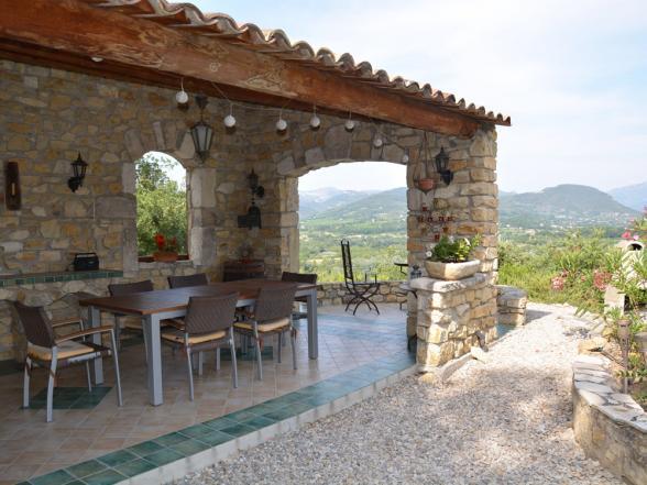 vakantiehuis huren zicht op Mont Ventoux Provence