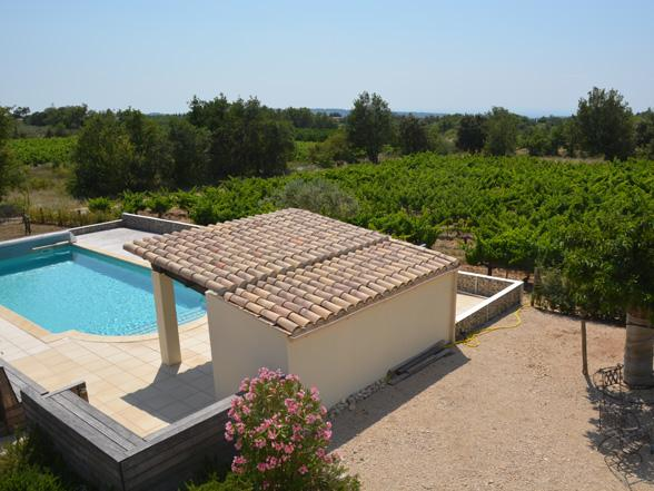 vakantievilla huren van Vlamingen / Belgen in de Provence met zicht op de Mont Ventoux