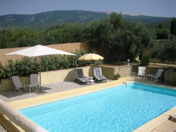 prachtige villa met zwembad in Bedoin te huur