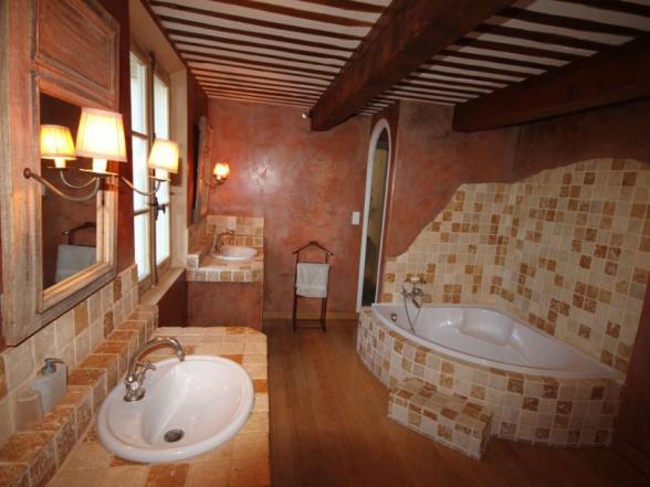 badkamer vakantie villa Pernes-les-Fontaines