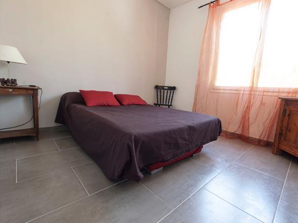 vakantie appartement met zicht op de Mont Ventoux te huur vlakbij Bédoin