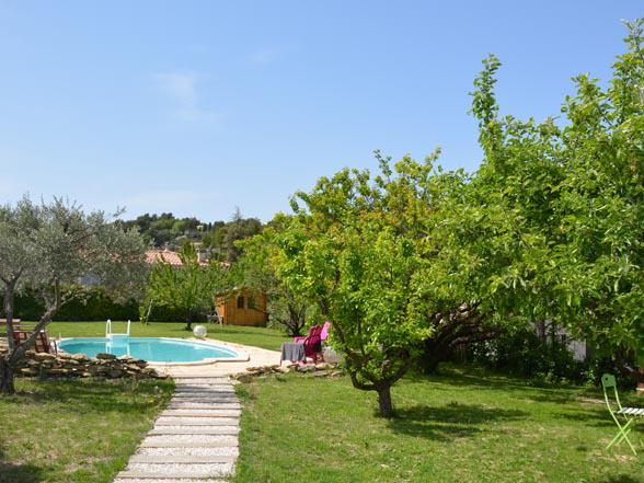 vakantie huisje te huur met privé zwembad 2 slaapkamers
