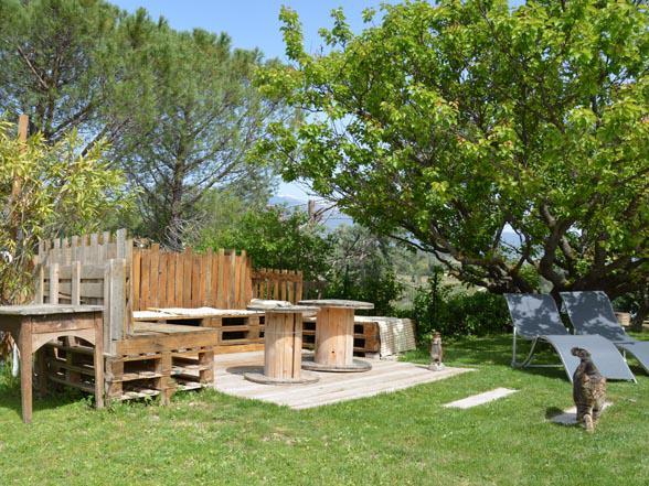 vakantiehuis te huur met zicht op de Mont Ventoux