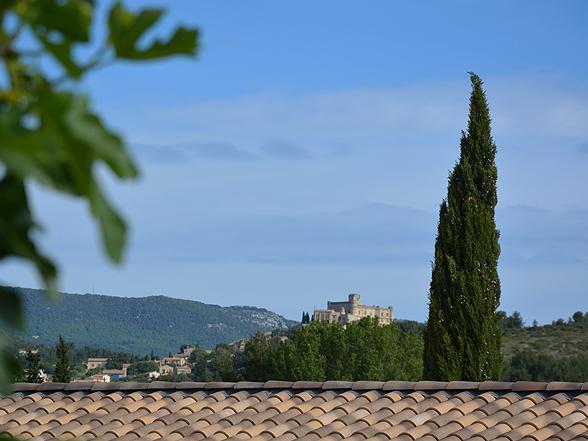 huis huren voor 2 personen met airco en verwarmd zwembad in de Provence