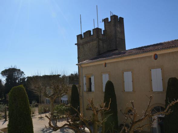 kasteel te huur voor vakantie onder de Provençaalse zon