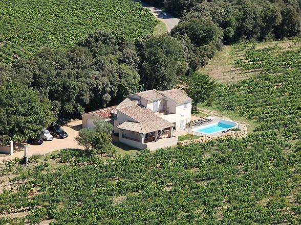 vakantievilla huren voor 10 personen met zwembad in de Provence, Zuid-Frankrijk