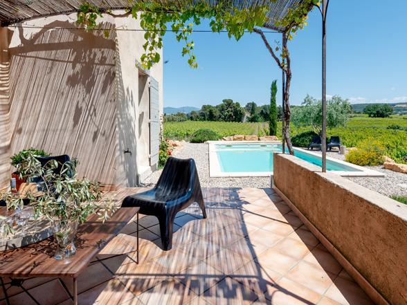 vakantie Provence villa huren voor 10 personen aan de Ventoux met privé zwembad