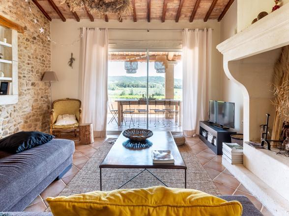 vakantie Provence luxe villa huren voor 10 personen met zwembad aan de Ventoux met privé zwembad