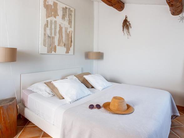 vakantie Provence, villa huren voor 10 personen tussen de wijngaarden in Visan met privé zwembad