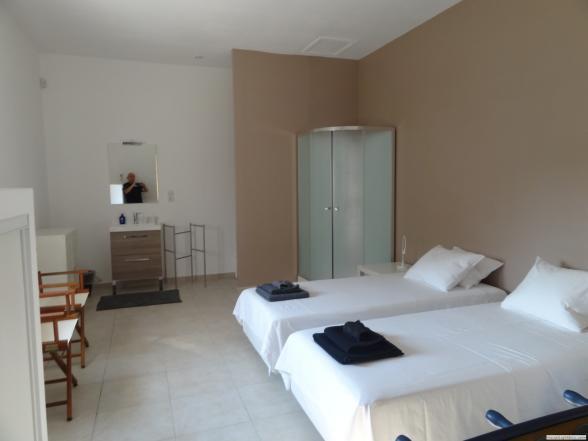 één van de 7 slaapkamers (met geïntegreerde badkamer)