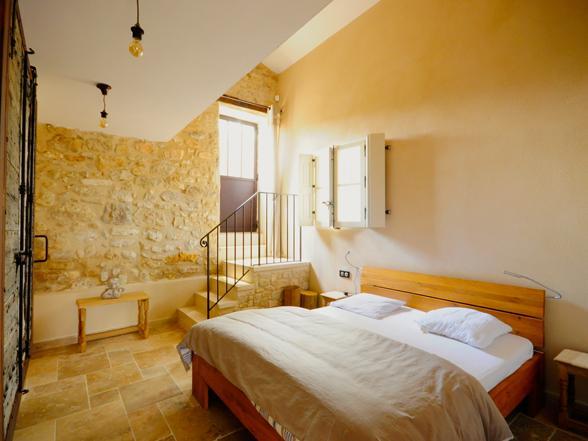 vakantie Provence villa huren voor grote groep, familie aan de Ventoux met verwarmd privé zwembad