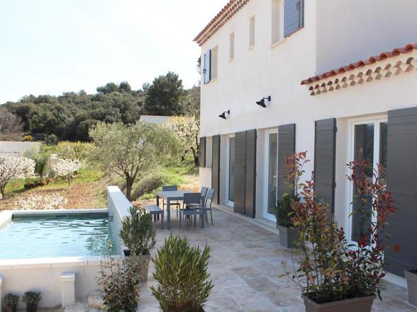 vakantiehuis voor 6 personen huren in de Provence, Zuid-Frankrijk met zicht op de Mont Ventoux