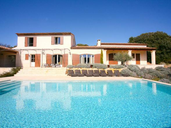 grote luxe villa huren in de Provence, Luberon