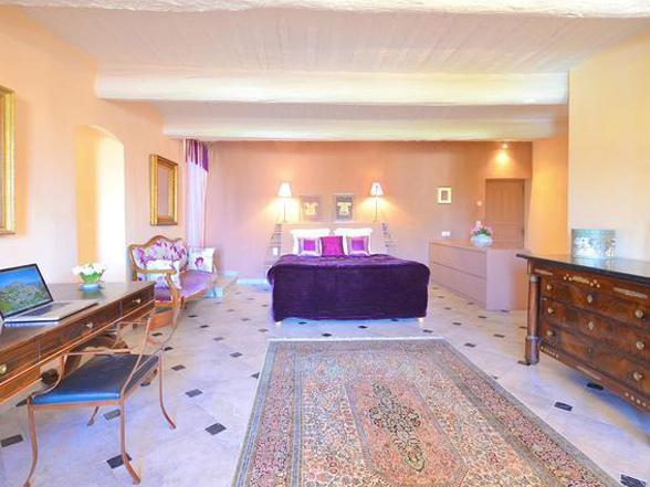 groot vakantiehuis met verwarmd privé zwembad huren in de Provence