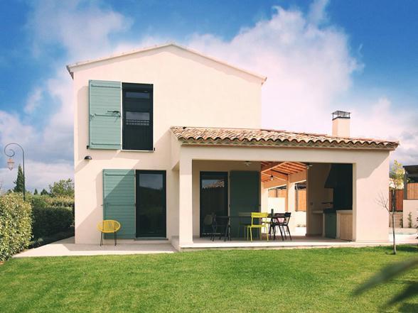 vakantie Provence villa huren voor 10 personen met airco en zwembad