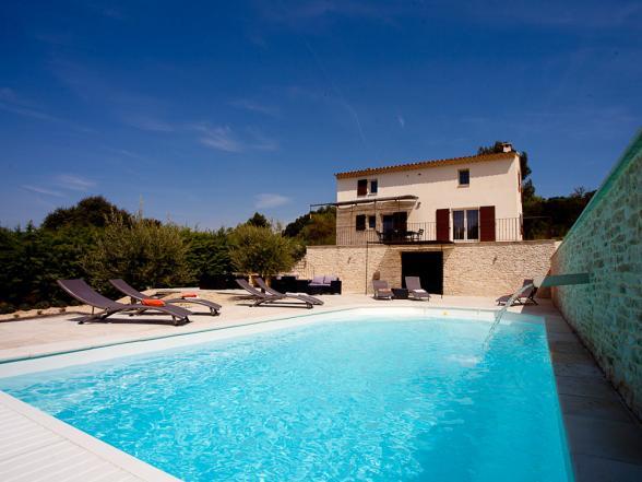 Provençaalse luxe villa Huren in de Luberon met zicht op de Mont Ventoux
