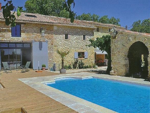 luxe villa voor 8 personen huren in Uzès met zwembad