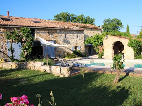 vakantiewoning huren met privé zwembad in Uzès, Gard, Zuid-Frankrijk