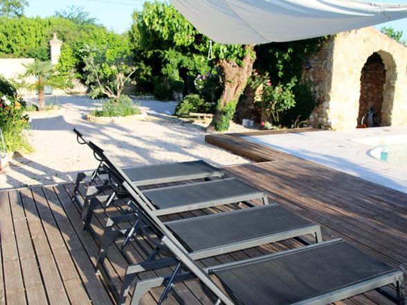 vakantie Provence, Gard, Pont du Gard, Uzès, villa huren voor 8 personen