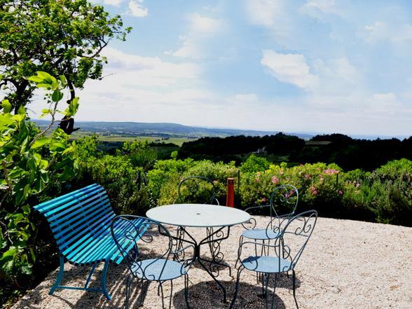 villa huren voor grote groep aan de Mont Ventoux, Provence